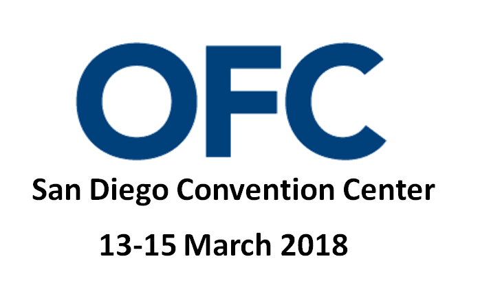 Optical Fiber Communication Conference 2018 - Aragon Photonics